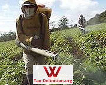 pesticidų